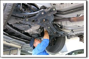 スカイレンタカー安心安全宣言その2指定工場によるメンテナンス