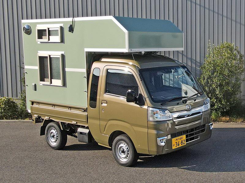 軽キャンピングカー外観1