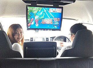 キャンピングカーのテレビ