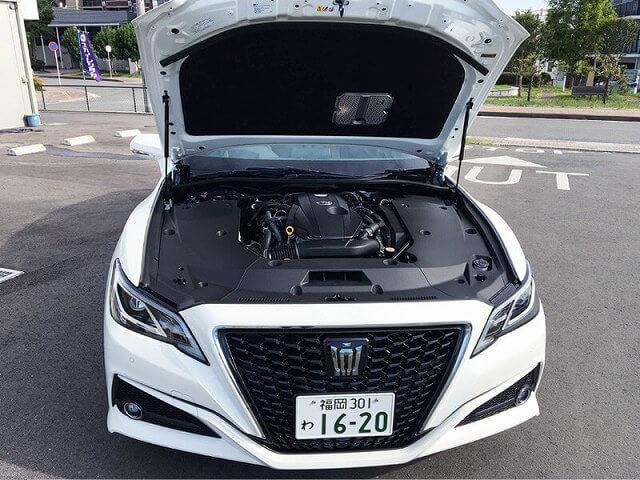 トヨタ クラウンハイブリッド 車内画像7