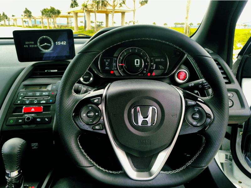 ホンダ S660 車内画像2