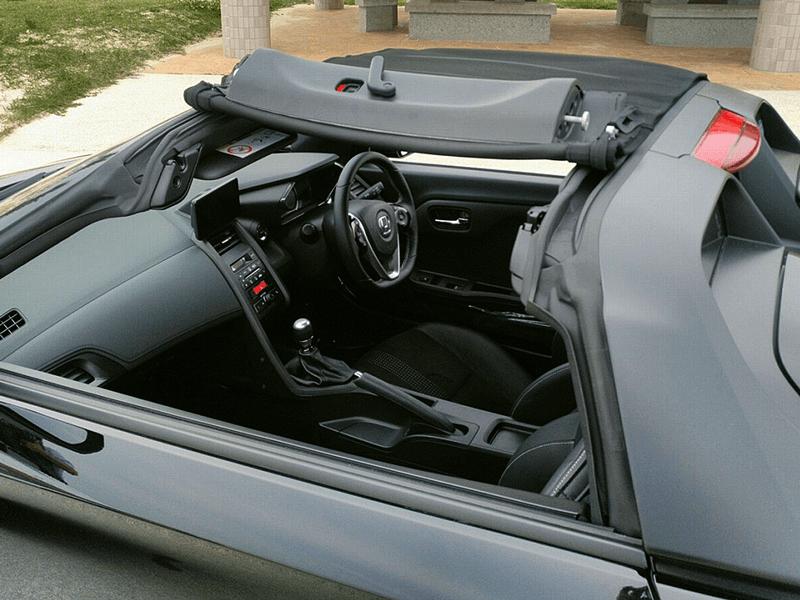 ホンダ S660 車内画像4