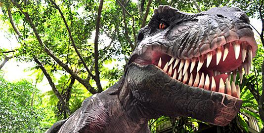 DINO恐竜PARKやんばる亜熱帯の森
