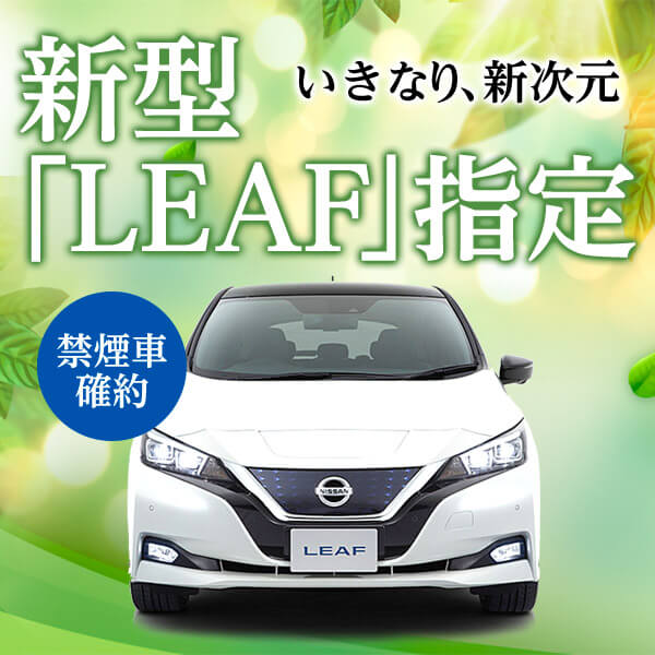 日産 新型リーフ車種指定 日産インテリジェントモビリティー
