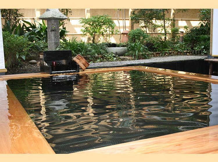 万葉の湯 温泉写真